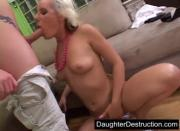 inches of daddys pain straight up her ass