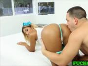 Stepsis Ally Berry shows stepbro a good time