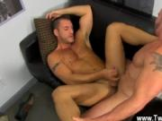 Nude men Horny Office Butt Banging