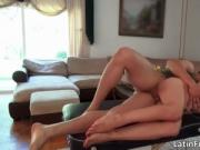Awesome hot body nasty brunette babe gets hardcore fuck