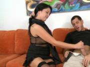 Nasty MILF is good at fucking