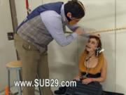 To much of rope and fine BDSM submissive sex