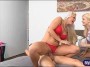 Holly Heart and Aubrey Gold threesome