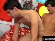 Hot twink scene Jason offers him a fatter rod and Lucas