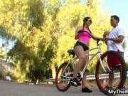 Cycling teen girl gets fucked hard after the training 1
