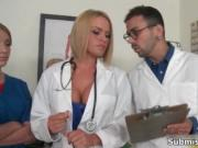 Guy gets horny getting examined by hot nurses by Submis