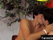 Twinks XXX Lucas gets turned on by the idea and fellate