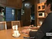 Subtitled ENF Japanese schoolgirl bathes with older man