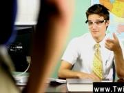 Hot gay Krys Perez plays a mischievous professor who's