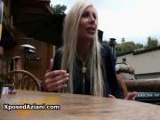 Sexy blonde pornstar Puma Swede exposing her sex life o
