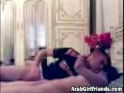 Sexy Arab Girlfriend Lying On Back And Getting Pussy Fi