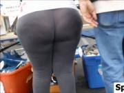 Nice Wide Ass In Tight Pants