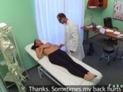 Doctor fucking busty petite patient