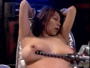 nasty asian babe gets horny when stranger tries to mast
