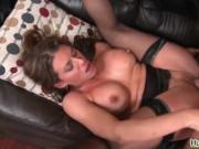 Sexy milf with big tits gets her tight pussy fucked har