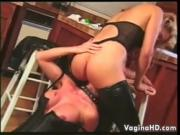 Sexy Lesbians In The Kitchen