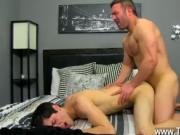 Twink video Brock Landon is thinking dinner plans, but