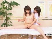Subtitle ENF CFNF Japanese lesbian chiropractic massage