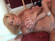 Chesty MILF nailed hard in her craving slit