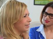 Incredible lesbians sex session