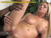 Black Cock Goes Deep in Mom