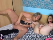 Young girl and fat BDSM mature