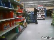 Wide Ass In Tight Jeans At Walmart