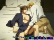 Muscular hentai gay having hardcore anal fun