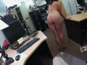 Customers wife fucked by horny pawnkeeper at the pawnsh