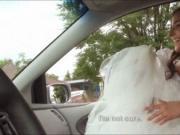 Pretty teen Amirah Adara call off her wedding and fucke