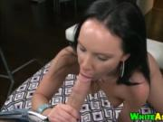 Big butt whore Katie St Ives takes a huge cock in her p