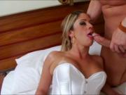 TS Nicole Bahls is anal fucking a dude