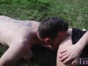 Larkin cumshot Vanda picked up and porked outdoors