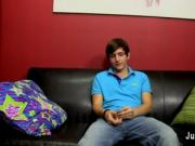 Gay video Gorgeous youthful Colby tells us about his se