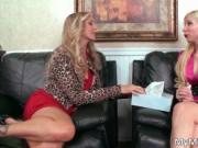 Hot blond MILF Julia Ann prepares for amazing sex with