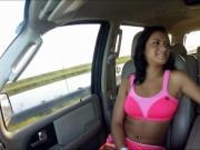 Hot ass latina Nadia Capri banged and cum facialed in p