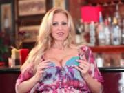 Amazing hot MILF big boobed blonde slut Julia Ann gets