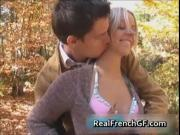 Teen french bombshell forest fucking fun video 1 by Rea
