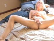 Gal stimulates clitoris
