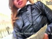 Czech girl Irina pounded for some money