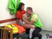 Amateur teen outdoor Dutch football player humped by ph