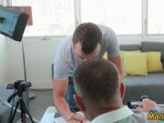 Steamy Chad getting drilled on a sofa 1 by ManCastings