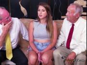 Teen Ivy Rose Shows Her Tits To Dirty Old Men