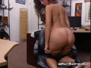 Hot Chick Victoria Banxxx Blows Pawnbroker For Cash