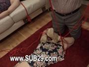 graceful whore violently ana fucked and banged BDSM sub