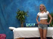 Hot masseuse with tiny tits