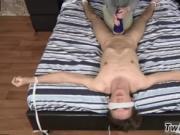 Shocking black on white gay porn Luca Loves That Fleshl