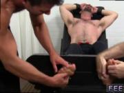 Leg fetish with mens legs gay Dolan Wolf Jerked & Tickl