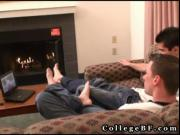 Aj fucking ian's hairy ass on sofa 5 by CollegeBF