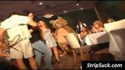 Strippers dancing for horny chicks